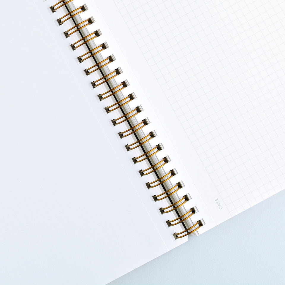 Appointed Blossom Pink Notebook | Lined or Grid Grid