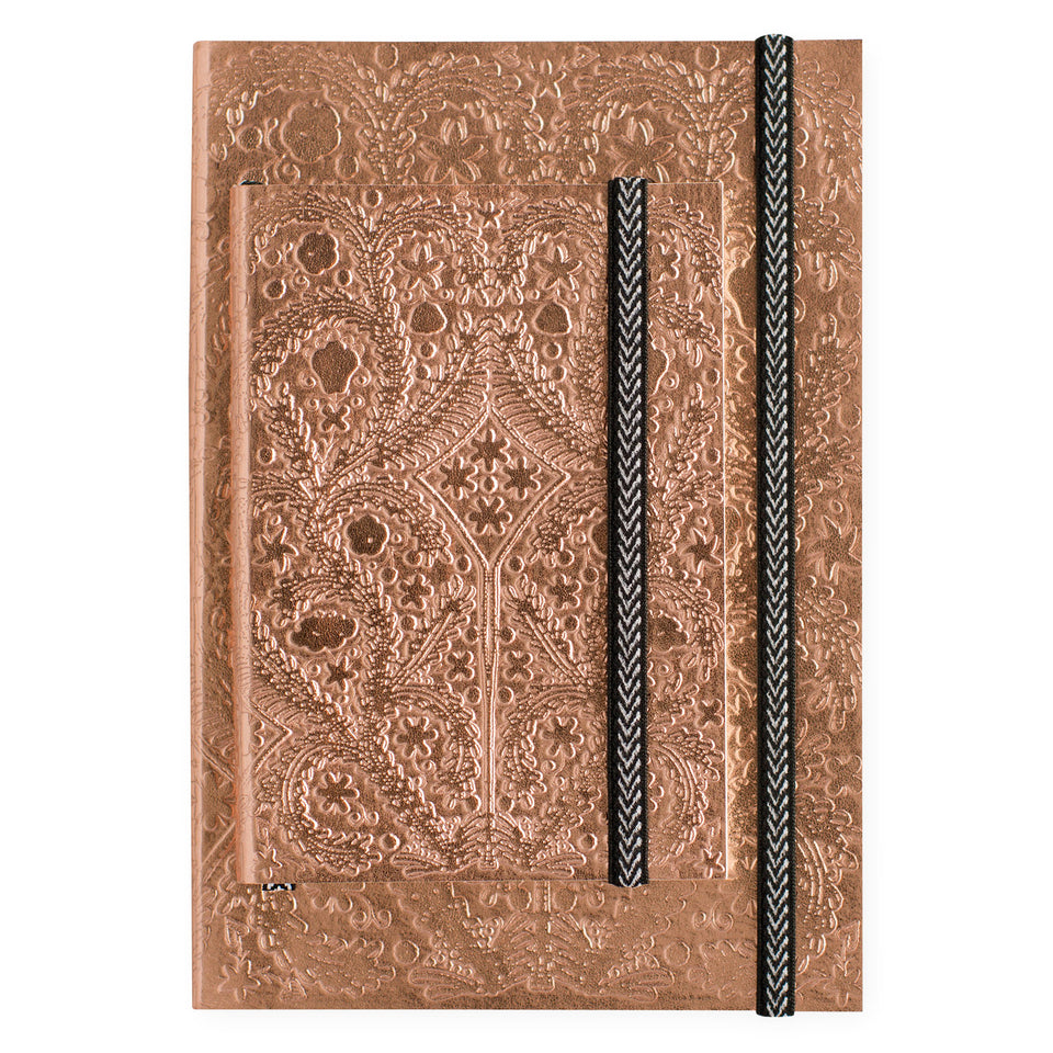 Christian Lacroix Paseo Copper Sunset Notebook | A5 or A6