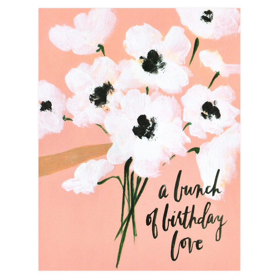Our Heiday Bunch of Birthday Love Greeting Card