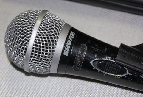 Shure PG58 Talkback Microphones (Lot of 3), Used Pro Mics For Sale