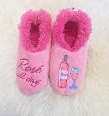 Rose all Day Snoozies Slippers