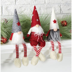 Gnome Shelf Sitter Christmas Decor by Mud Pie