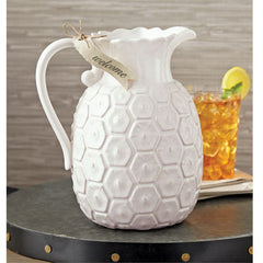Pineapple pitcher by mudpie