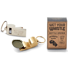 Wet Your Whistle Bottle Opener in Gift Box - Choice of Color