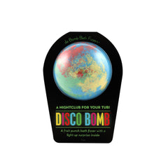 Da Bomb Bomb Bath Fizzer - Disco Bomb - A Night Club For Your Tub!