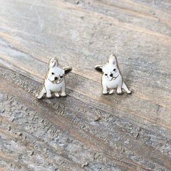 Signature Pet Enamel Studs by Prep Obsessed - French Bulldog