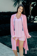 Pretty in Pink Robe