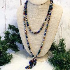Norah Multi Long Beaded Necklace