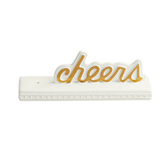 Cheers Sign by Nora Fleming