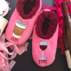 Coffee and Wine Slippers