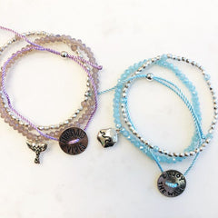 String Bracelet Stack - Choice of Colors