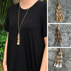 Alannah Tassel Necklace