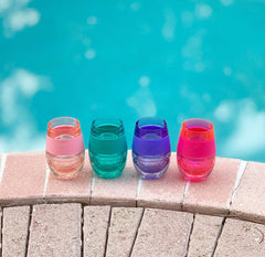 Translucent Wine FREEZE Cooling Cups by HOST - Choice of Color