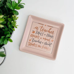 A Teacher' Trinket Tray by PBK