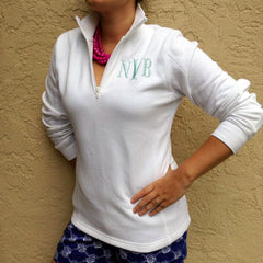 Preppy Fitted Monogram Popover (3-4 Week Production Time)