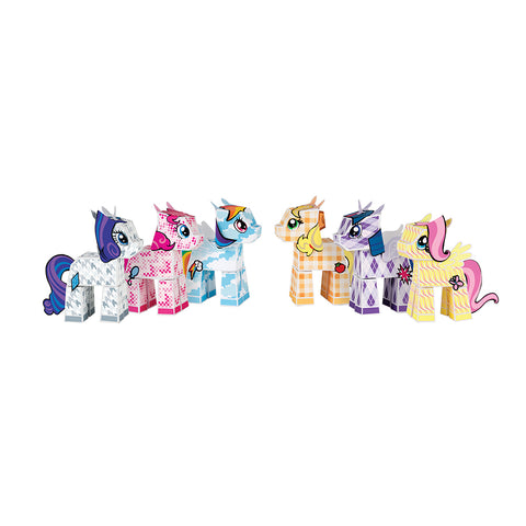 My Little Pony - 6 pack of all the Ponies