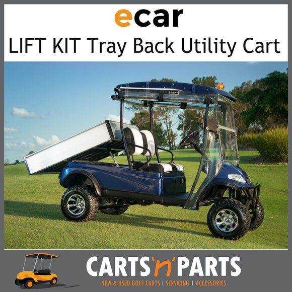 A627.H2 Tray Back LIFT KIT Golf Cart CARGO carrier-New Golf Carts-Carts N Parts