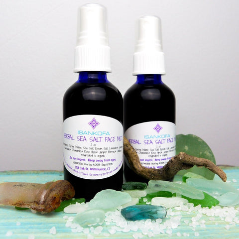 Face Mists--Herbal Sea Salt and Rose Water