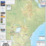 East Africa Mines and Minerals Map - 2014