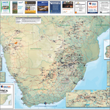 Southern Africa Mines and Minerals Map