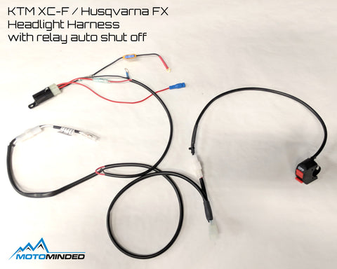 Baja Designs Headlight Harness with auto off relay