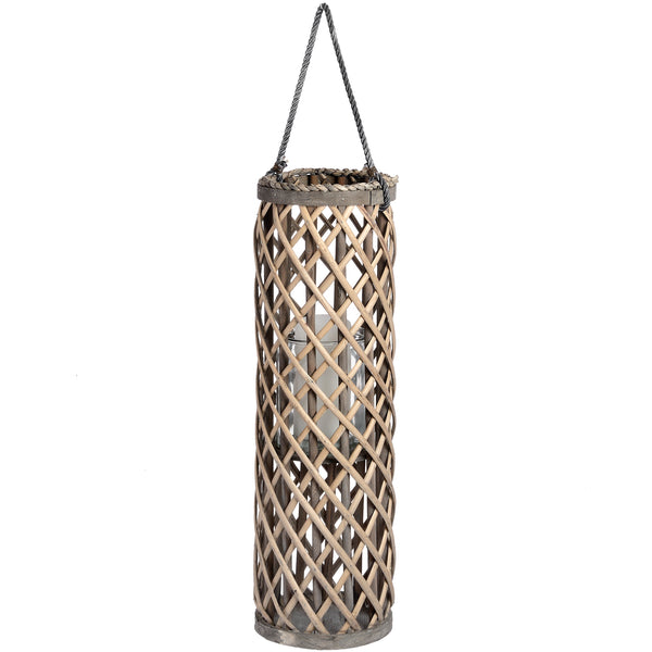 Medium Wicker Lantern