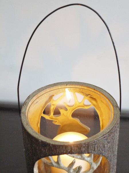 Carved Candle Holder ,  - Olive and Sage, Olive and Sage  - 4