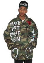 Make Art Great Again Cross Jacket