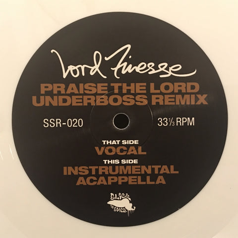 Lord Finesse - Praise The Lord (Remix) - 12