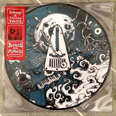 Audessey & A Cat Called Fritz - Beats Per Minute - EP (Picture Disc)