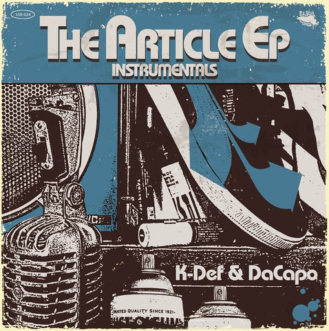 K-Def & DaCapo - The Article EP Instrumentals - 180g (Black)