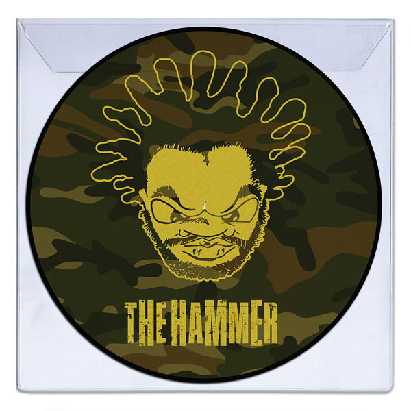 Jeru - The Hammer EP - Camo Picture Disc (w Gold Screen Print)