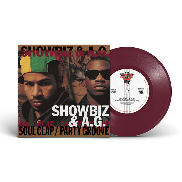 Showbiz & A.G. - Soul Clap/Party Groove - Deluxe 45 (Color)