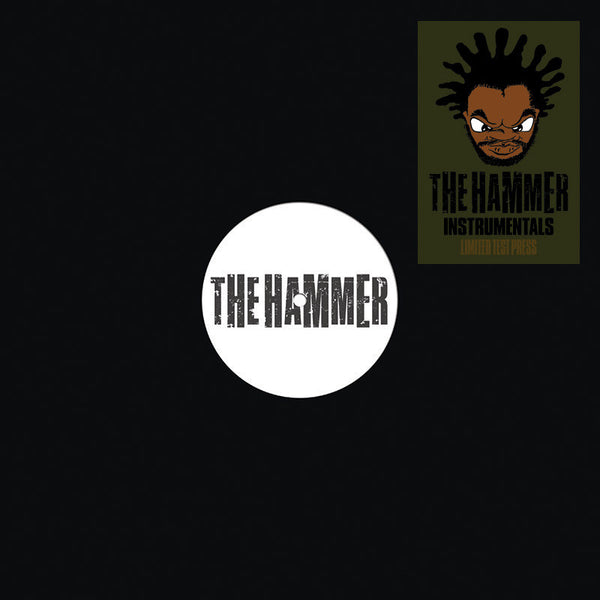Jeru The Damaja - Hammer Instrumentals - Test Pressing