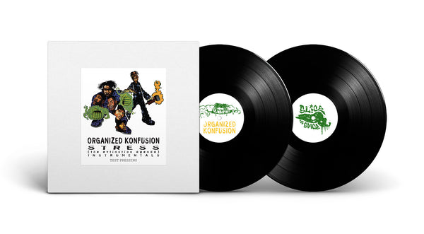 Organized Konfusion - Stress Instrumentals - x2LP (Test Pressing)