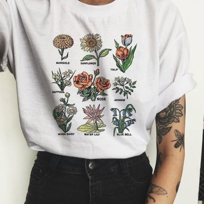 Wildflower Graphic Tees