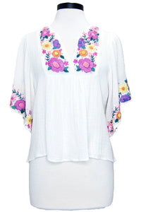 bell angel top white