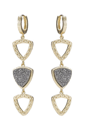 marcia moran tresina earrings gold
