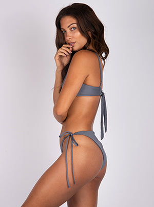Tie Back Bra in Mako