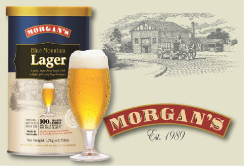 Morgans Premium Blue Mountain Lager