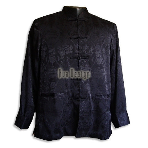 Black Men's Pisces Jacket