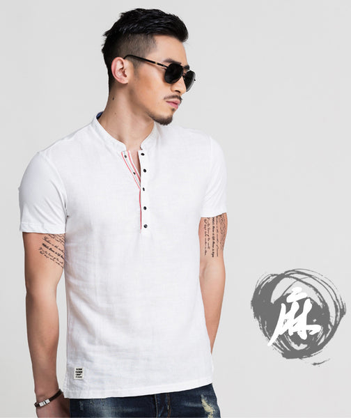Men's White Fitted Shirt