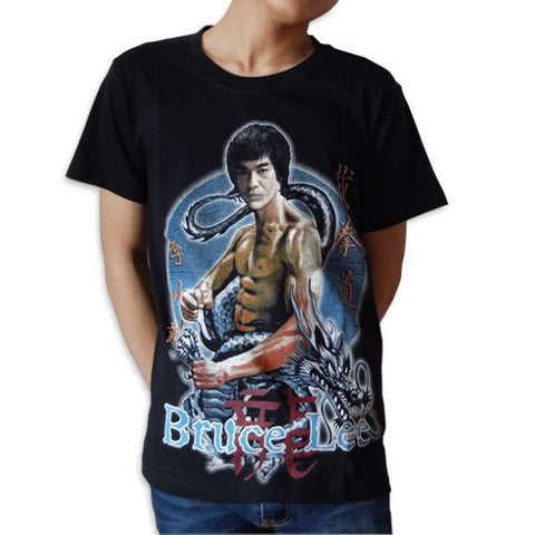 Bruce Lee Printed Vintage T-Shirt