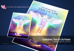 Art Print Poster- Kabbalistic Tree of Life