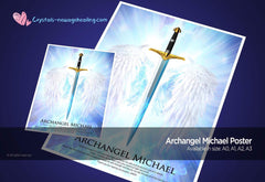 Art Print Poster- Archangel Michael- our protector