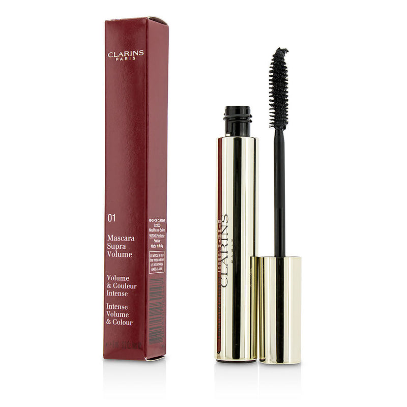 Clarins Supra Volume Mascara - # 01 Intense Black --8ml-0.2oz By Clarins
