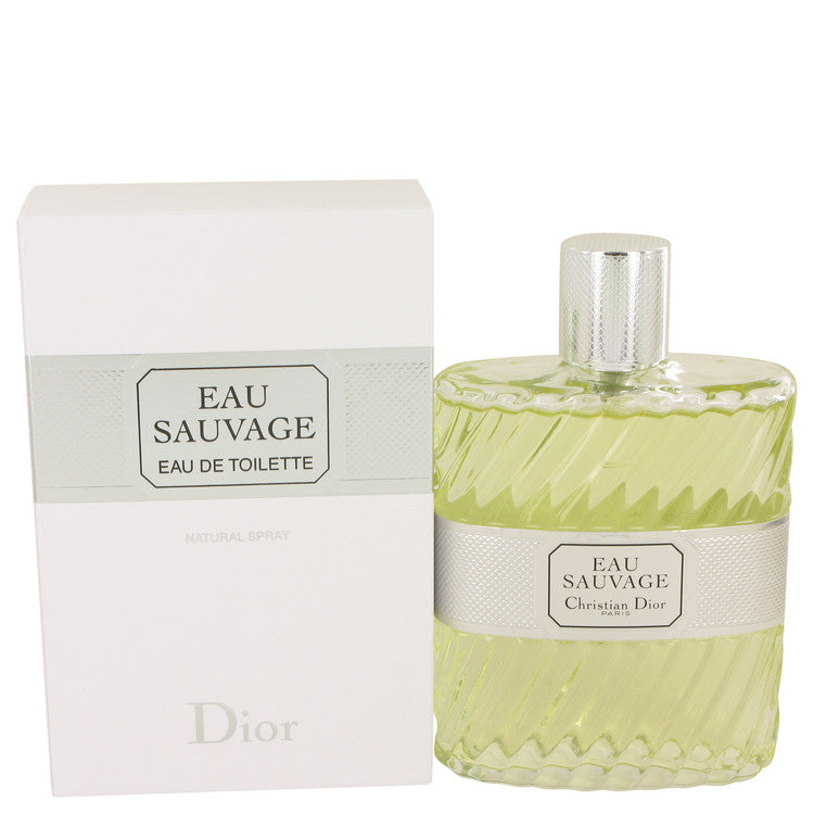 EAU SAUVAGE by Christian Dior Eau De Toilette Spray 6.8 oz for Men