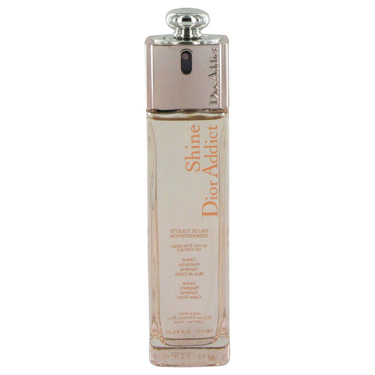 Dior Addict Shine by Christian Dior Eau De Toilette Spray (Tester) 3.4 oz for Women