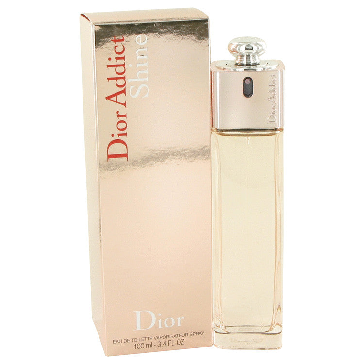 Dior Addict Shine by Christian Dior Eau De Toilette Spray 3.4 oz for Women