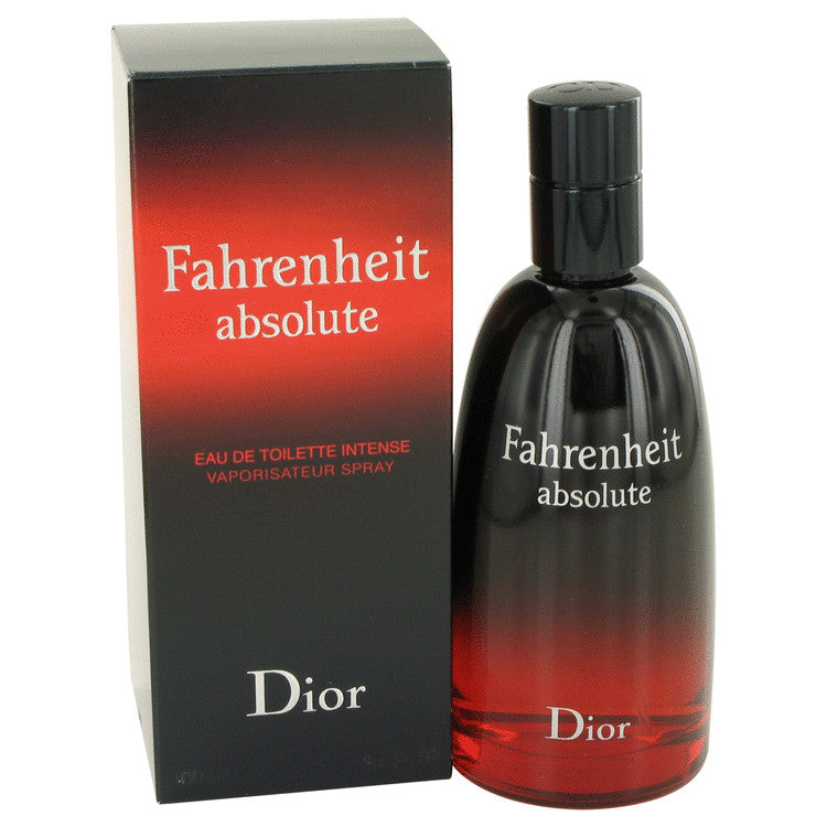 Fahrenheit Absolute by Christian Dior Eau De Toilette Spray 3.4 oz for Men